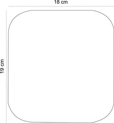 фото выкройка Чехол для очков