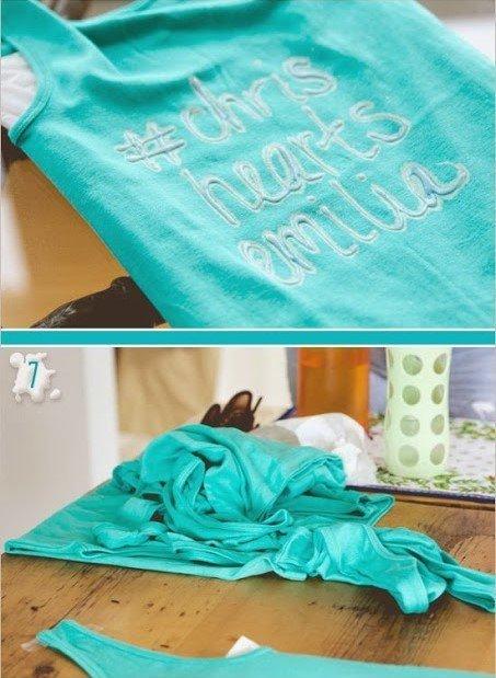фото сделать надпись на футболке