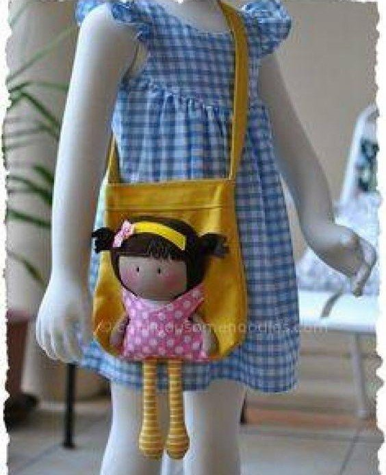 фото кукла с сумкой своими руками