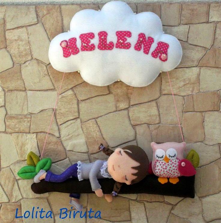 фото выкройка кукольной композиции с именем ребенка