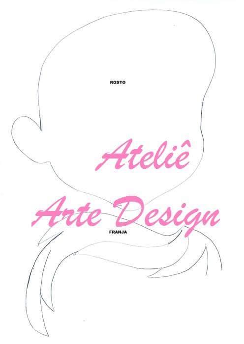 фото кукла текстильная Ариэль