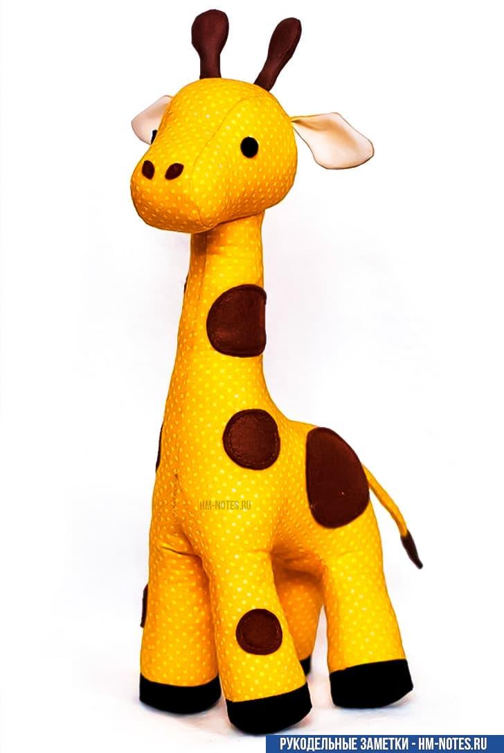 выкройка жирафа