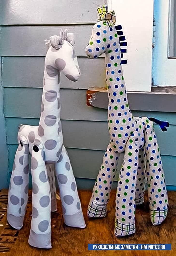 фото выкройка игрушки жираф