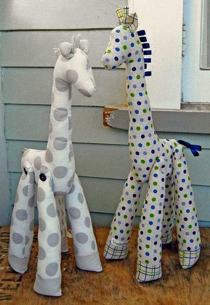 фото жираф своими руками
