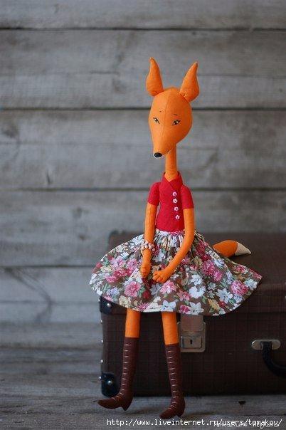фото кукла лиса