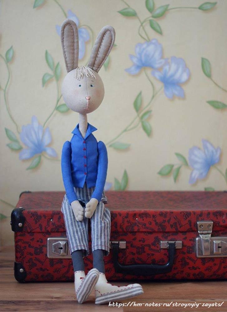 фото выкройка зайца