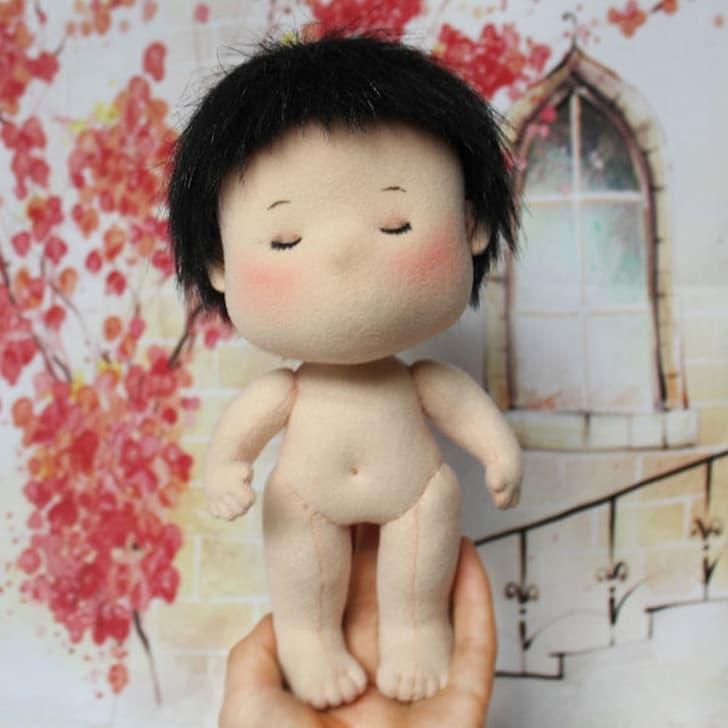 фото японская кукла handmade boy