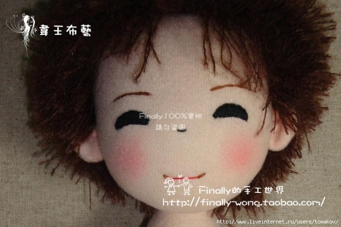Выкройка и МК по пошиву японских кукол