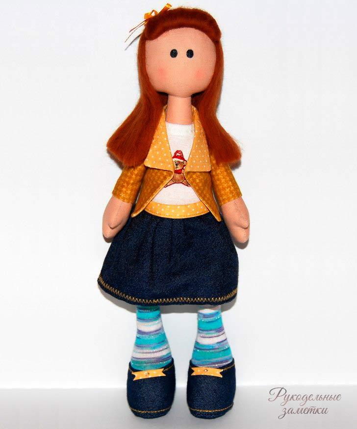 фото кукла снежка