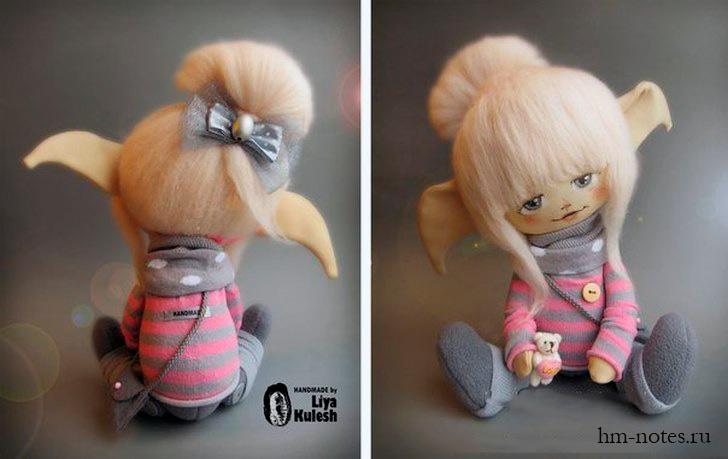 фото выкройка куклы Эльф