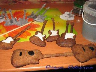 как сделать текстильные гитары
