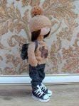 Выкройка куклы «Большеножка» 32 см