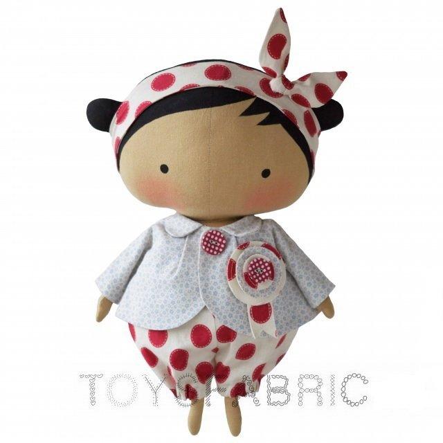 фото выкройка куклы тильда Милашка