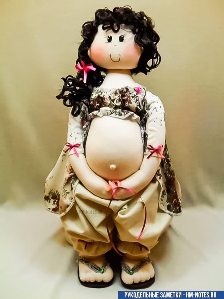 фото выкройка беременной куклы