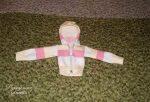 Шьем трикотажную курточку для куклы
