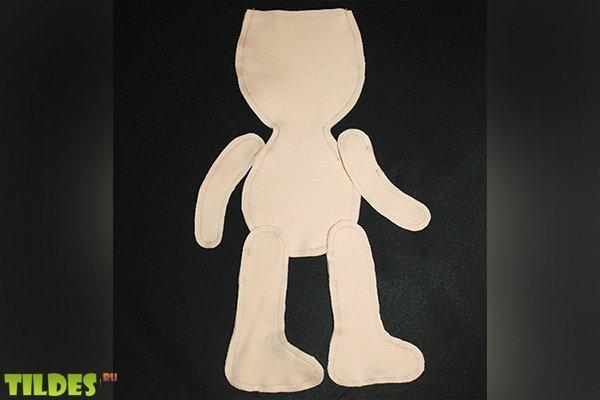 фото выкройка куклы большеножка 28 см