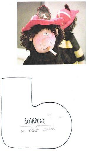 фото выкройка куклы Пожарный