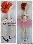 Кукла-тильда «Балерина»