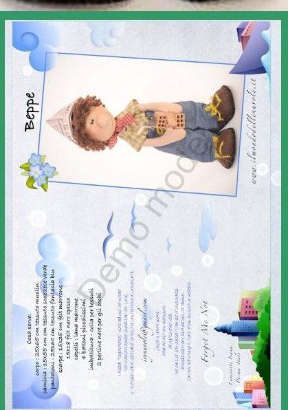 фото выкройка куклы мальчик строитель