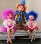 """Выкройка куклы """"Fancy Nansy"""""""