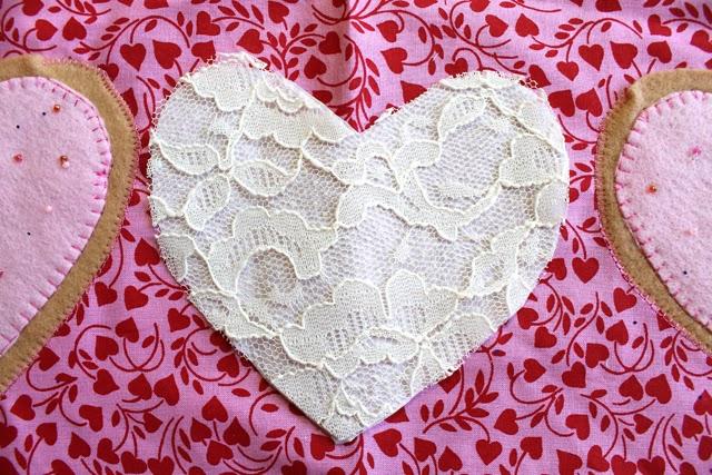 Фартук с сердечками 4