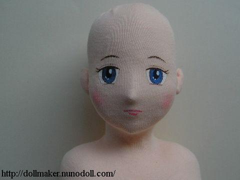 Выкройка куклы в натуральную величину 34