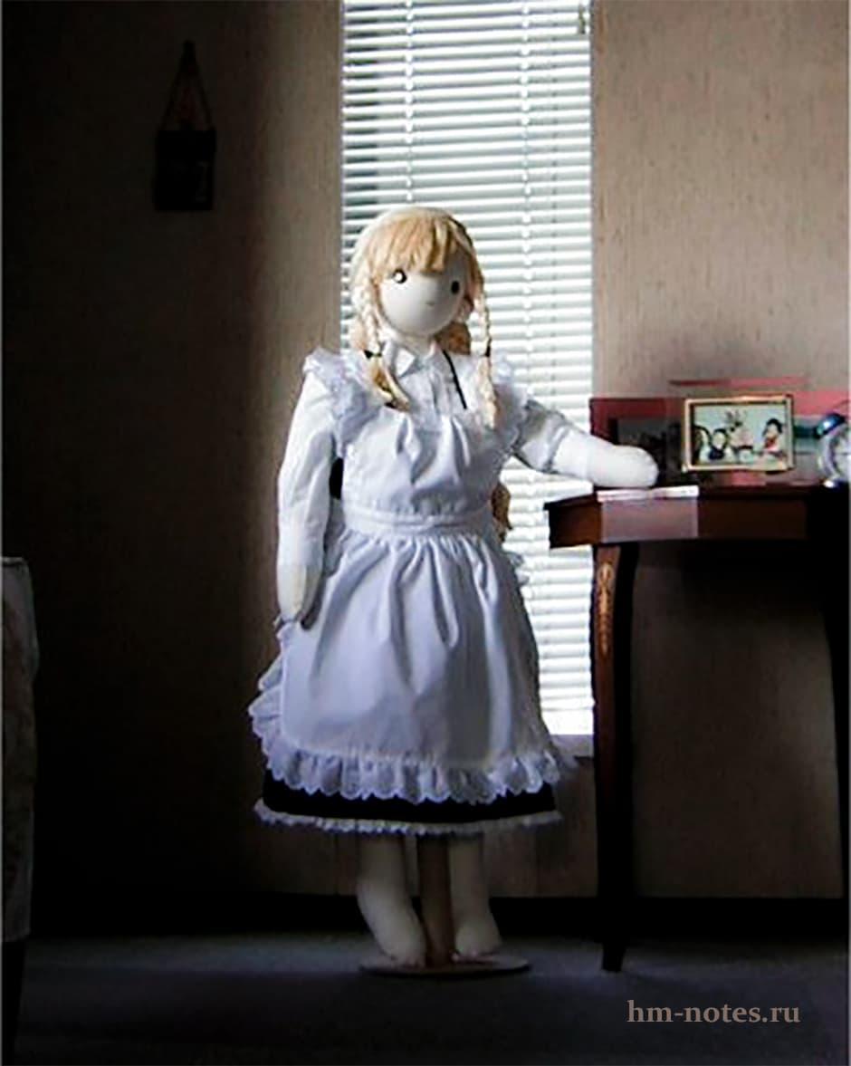 Выкройка большой куклы девочки Синди