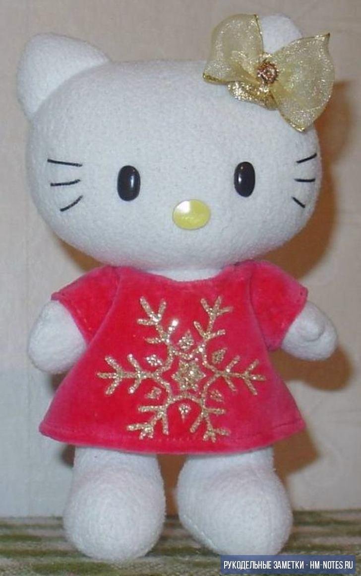 6 выкроек игрушки Hello Kitty