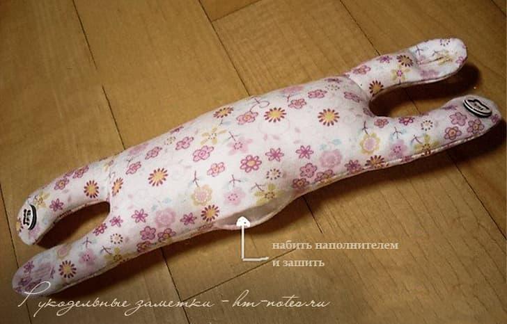 Подушка-браслет в форме кота от туннельного синдрома 7