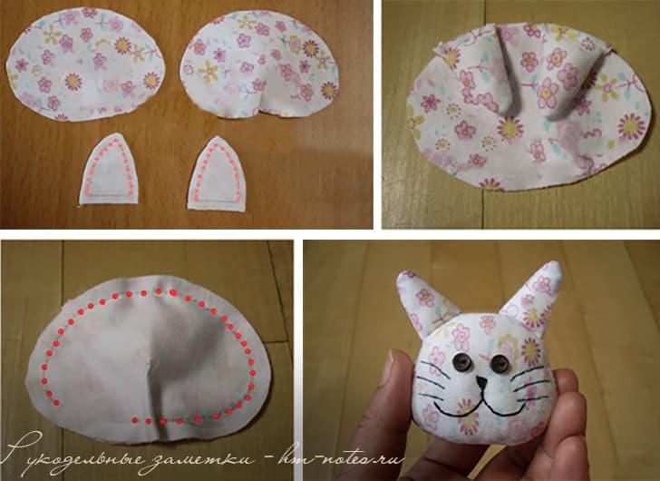 Подушка-браслет в форме кота от туннельного синдрома 8