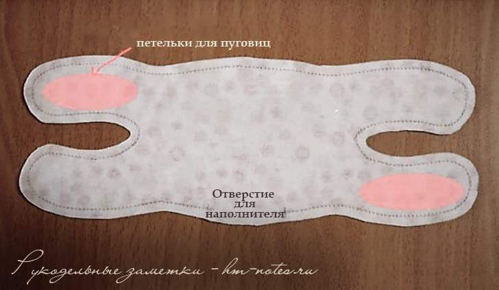 Подушка-браслет в форме кота от туннельного синдрома 3