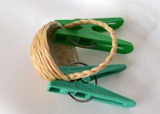 фото корзинка для кауклы