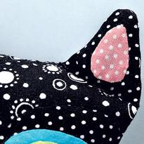 текстильная кошка