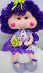 Текстильная кукла «Цветочек»
