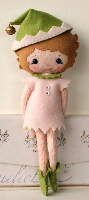 кукла из фетра своими руками