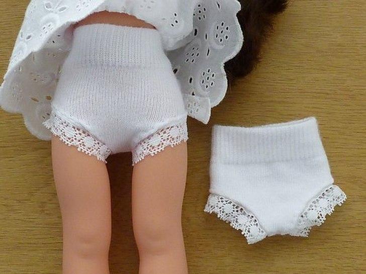 одежда для кукол из носков