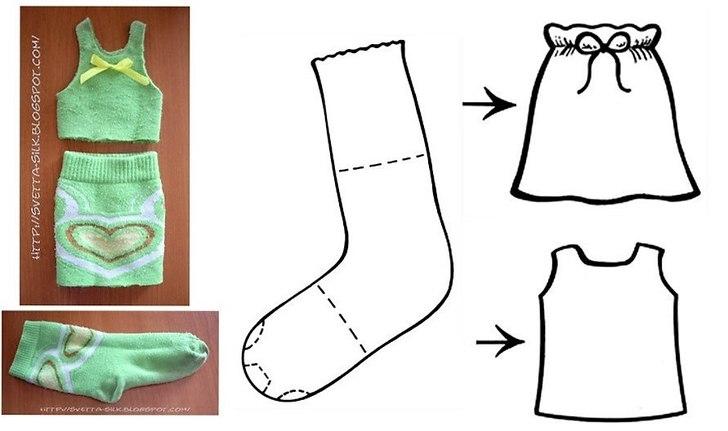 Как самому сделать носки 37