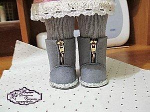 фото сапожки для куклы