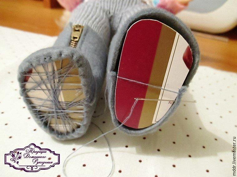фото как сделать обувь кукле