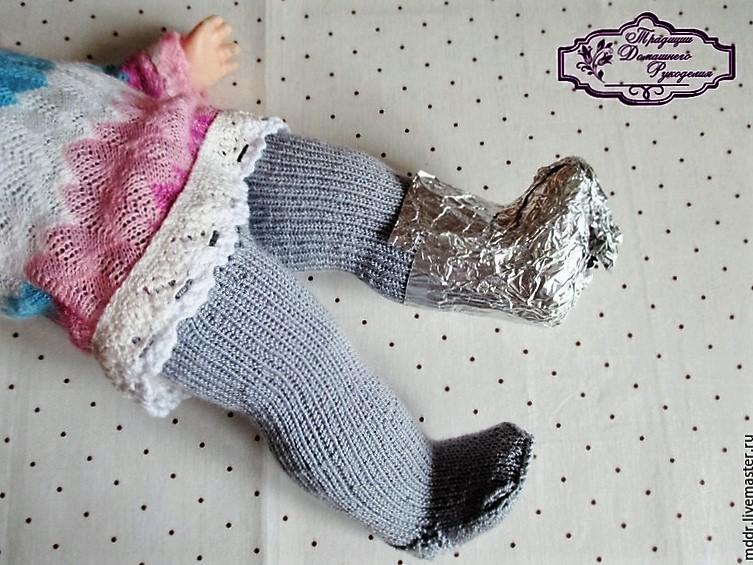 Сшить сапожки для куклы Одежда для куклы 67