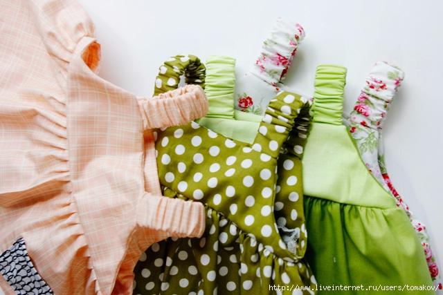 сарафан для куклы своими руками