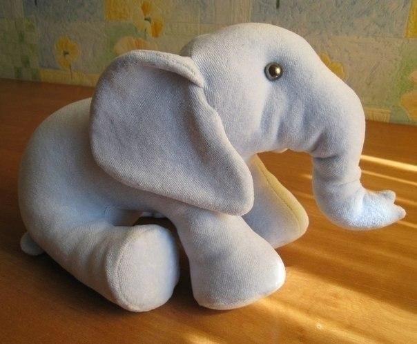 фото мягкая игрушка слоник