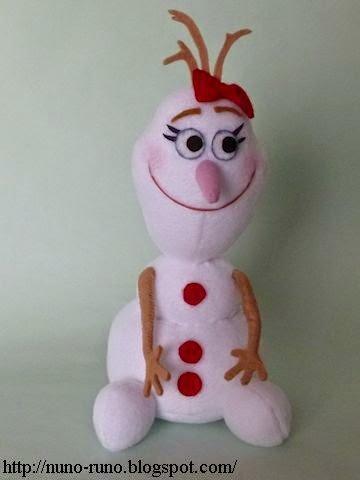 кукла снеговик