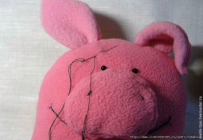 выкройка свиньи и поросенка