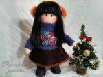 Текстильная кукла «Нина»