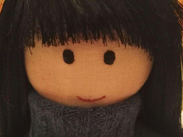 фото текстильная кукла Нина