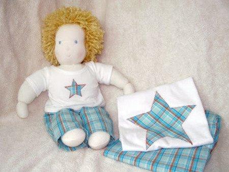 выкройка вальдорфской куклы мальчик