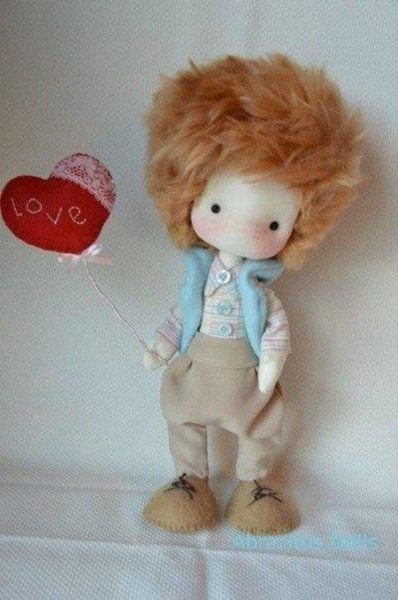 выкройка куклы мальчика