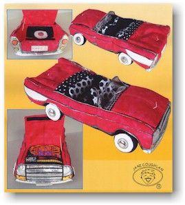 фото выкройки мягких детских машинок