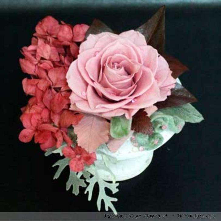 фото сделать стабилизированные цветы своими руками